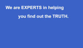 Experts At Finding The Truth - Leeds private detective