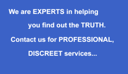 Professional and Discreet - private detective Leeds UK